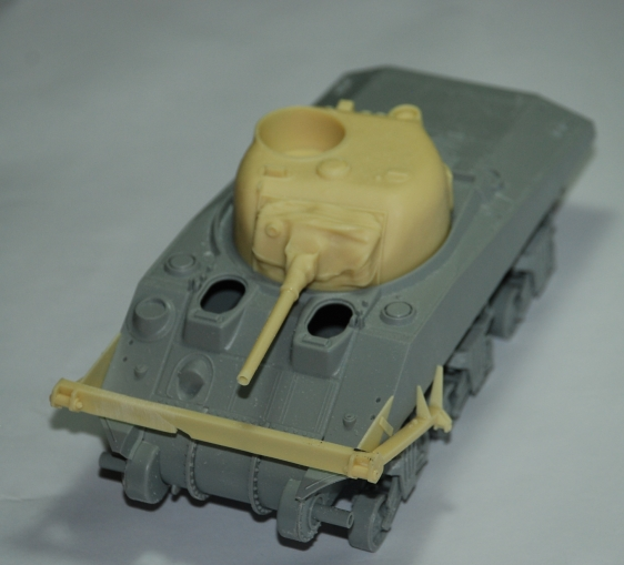 SHERMAN CRAB 1/35 CiberHobby + Verlinden Crab110