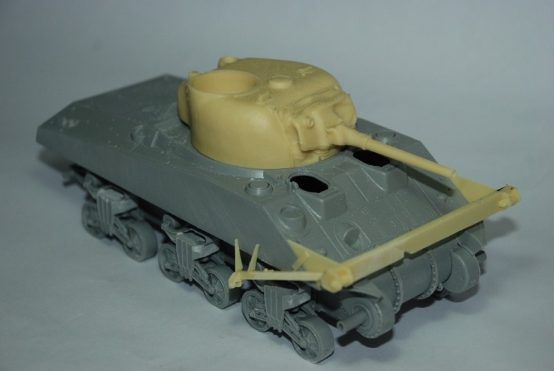 SHERMAN CRAB 1/35 CiberHobby + Verlinden Crab210