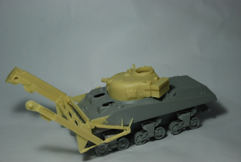 SHERMAN CRAB 1/35 CiberHobby + Verlinden Crab410