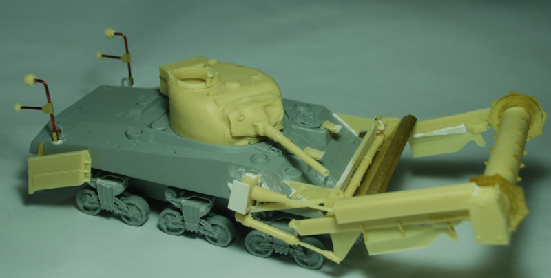 SHERMAN CRAB 1/35 CiberHobby + Verlinden Crab510