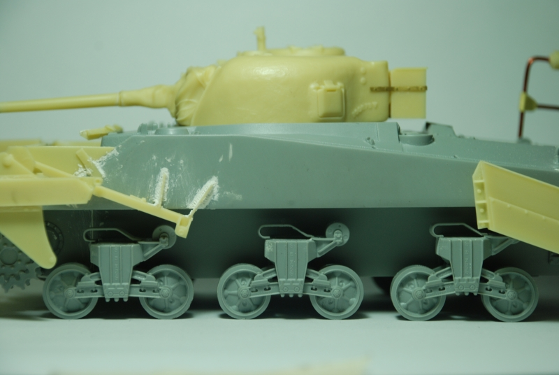 SHERMAN CRAB 1/35 CiberHobby + Verlinden Crab610