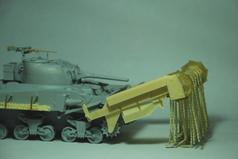 SHERMAN CRAB 1/35 CiberHobby + Verlinden Crab_c11