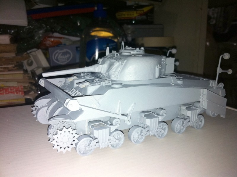 SHERMAN CRAB 1/35 CiberHobby + Verlinden Crab_f10