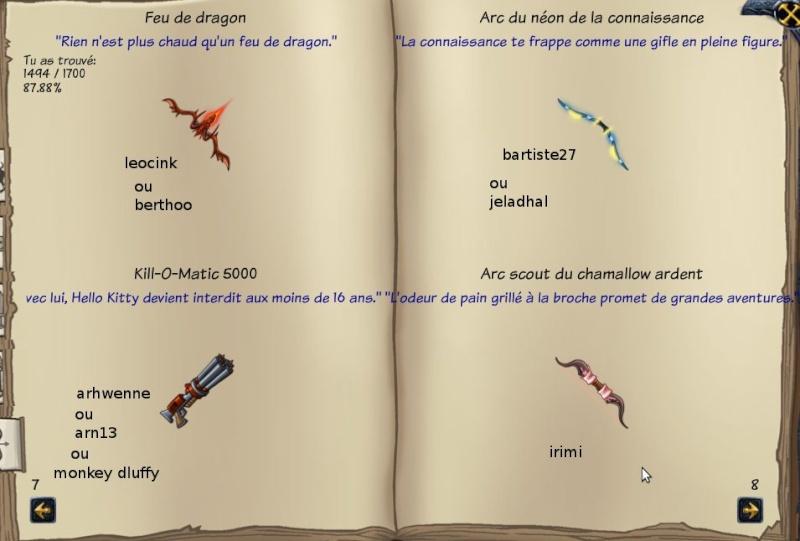 Tableaux de chasse - Eclaireurs Pp10