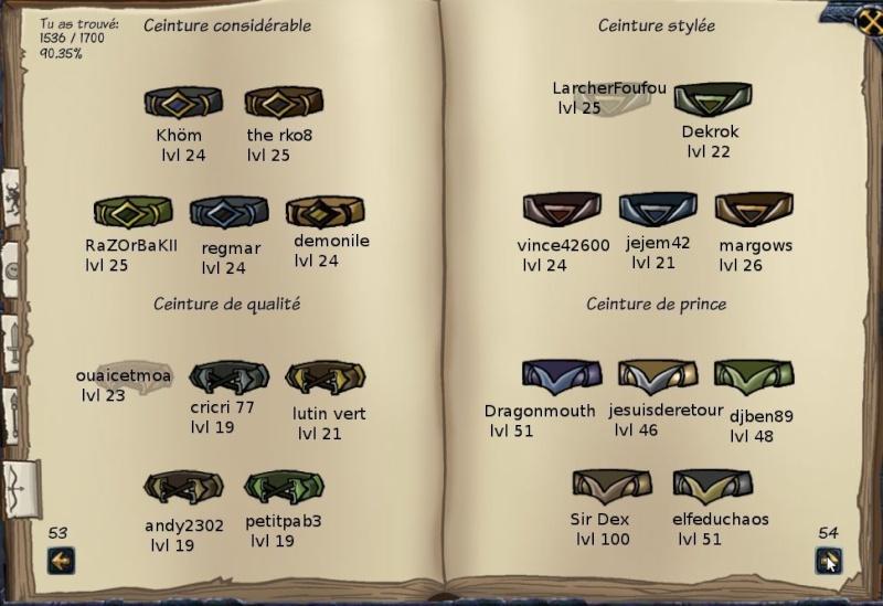 Tableaux de chasse - Eclaireurs Sf213