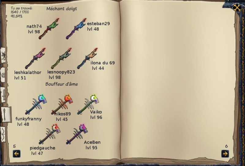 Tableaux de chasse - Mages Sf312