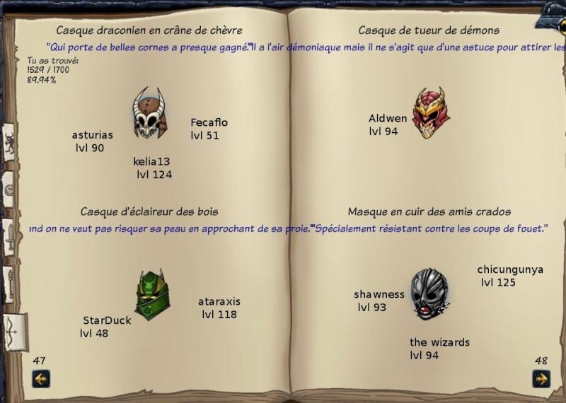 Tableaux de chasse - Eclaireurs Sf410