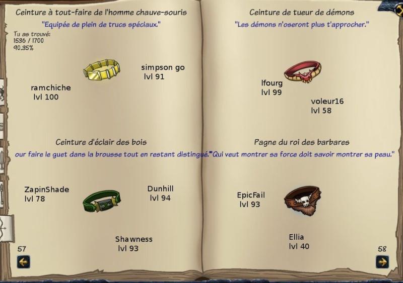 Tableaux de chasse - Eclaireurs Sf411