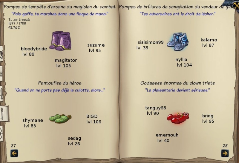 Tableaux de chasse - Mages Sf414