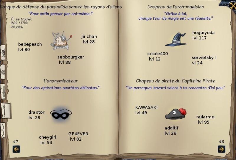 Tableaux de chasse - Mages Sf416