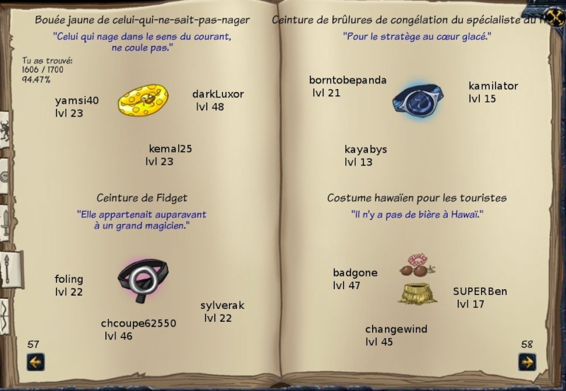 Tableaux de chasse - Mages Sf417