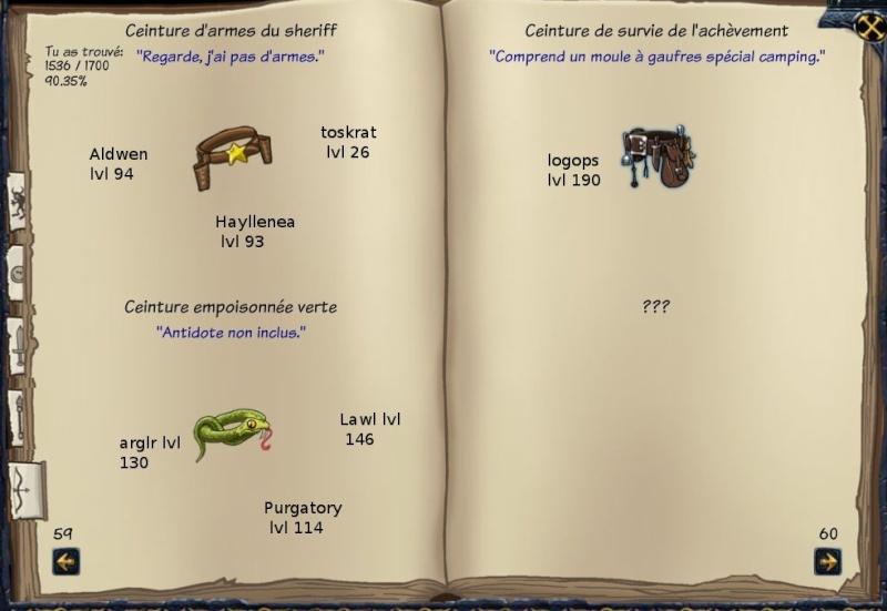 Tableaux de chasse - Eclaireurs Sf511