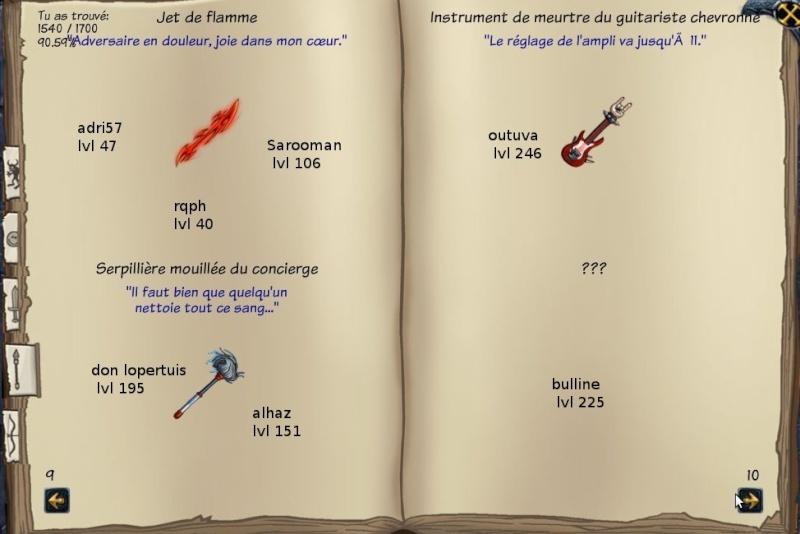 Tableaux de chasse - Mages Sf512