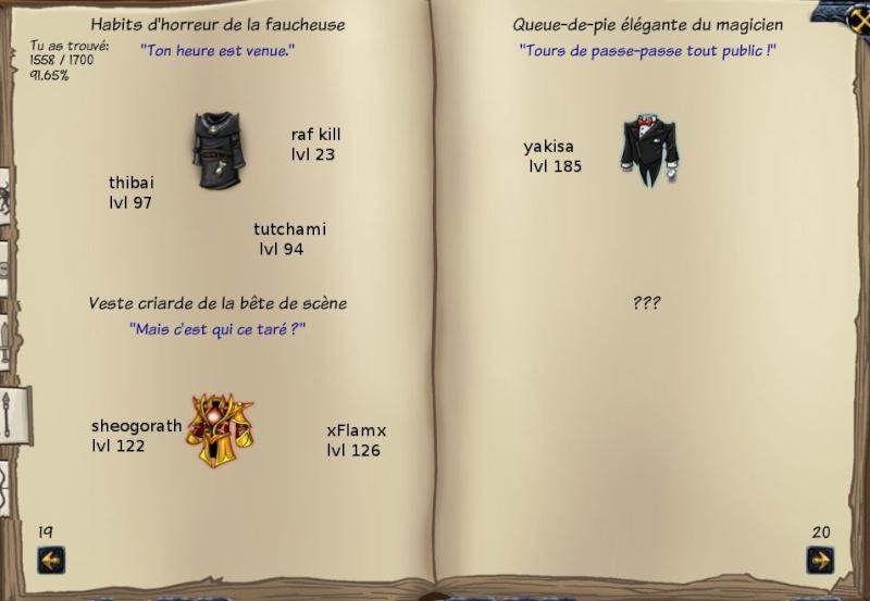 Tableaux de chasse - Mages Sf513