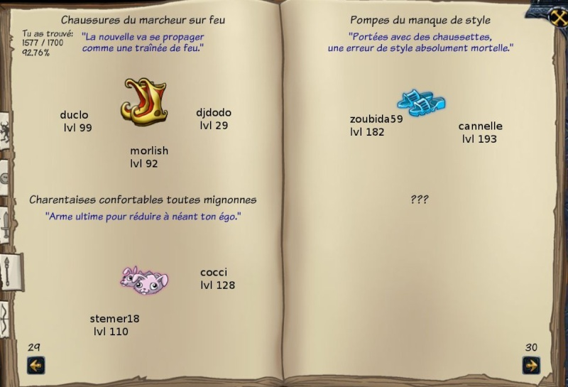 Tableaux de chasse - Mages Sf514