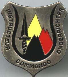 les paras commando belge aujourd'hui Instru11
