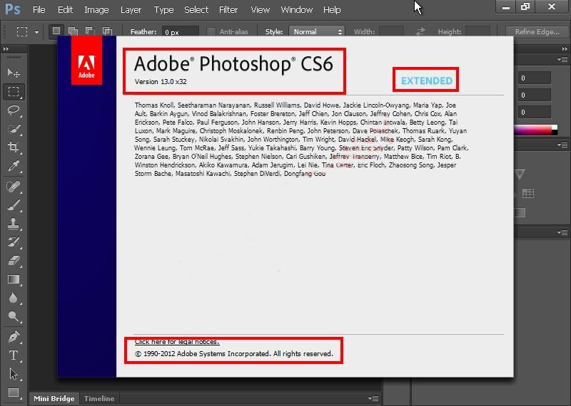 الاصدار النهائى Adobe Photoshop CS6 13.0 Final + داعم للعربية + الباتش للتفعيل 39326810