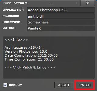 الاصدار النهائى Adobe Photoshop CS6 13.0 Final + داعم للعربية + الباتش للتفعيل Captur48