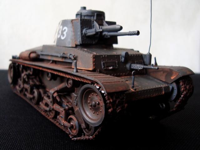 Le Panzer 35(t) en maquettes Panzer32