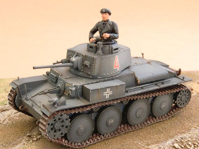Le Panzer 38(t) en maquettes Panzer33