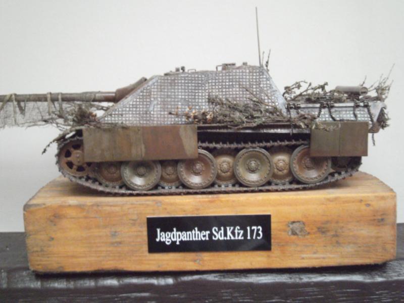 jagdpanther - jagdpanther 1/25 academy Pict0691