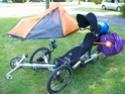 Fabriquer une sacoche pour trike ou low racer,pas cher - to Build a Pannier 100_1212