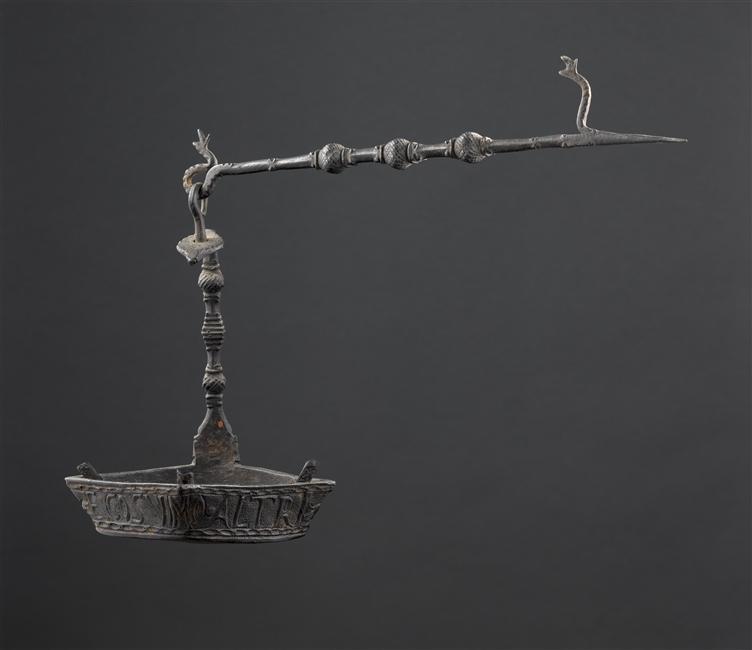 caleil - lampe à huile Caleil ou lampe bec de corbeau (italie) 07-50011