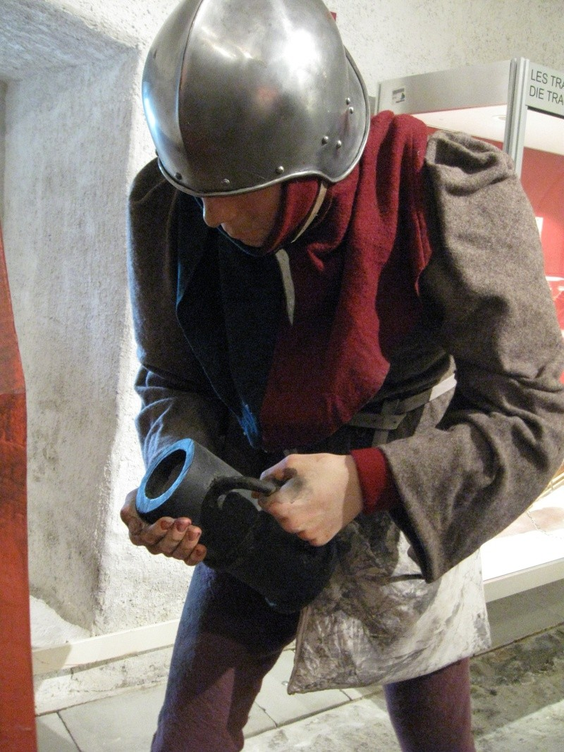 Veuglaire / couleuvrine à culasse du musée de Morges en Suisse (XVe) Img_3221