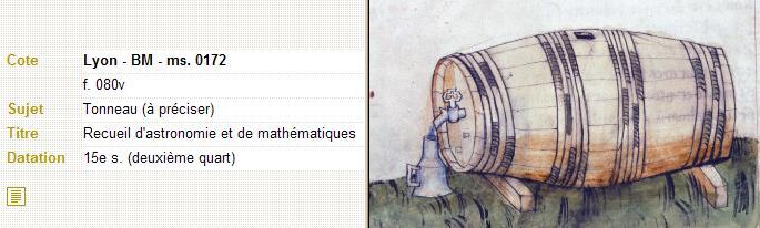 récipients pour boissons (artefacts et illustrations) Lyon_t11