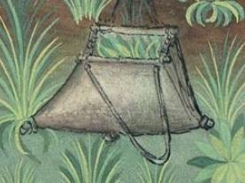 sac d'artilleur en toile de lin et lattes de bois Sac10
