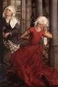 [icono XVe] robes de femmes à manches courtes + manches rapportées Robe110