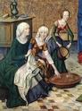 [icono XVe] robes de femmes à manches courtes + manches rapportées Robe_610