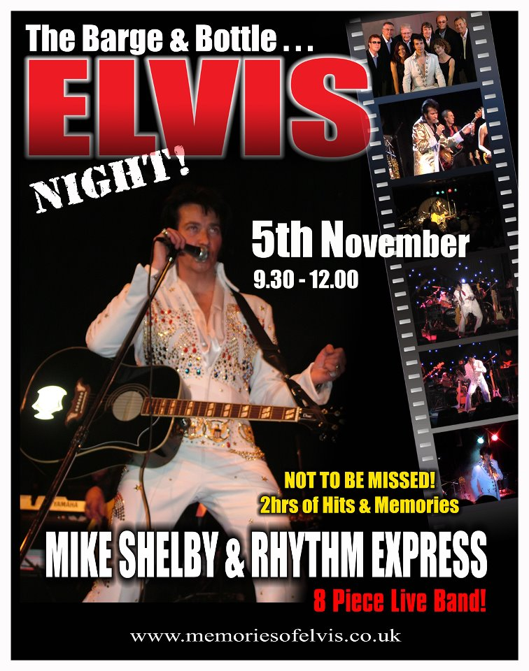 Memories Of Elvis Tribute Show 30101710