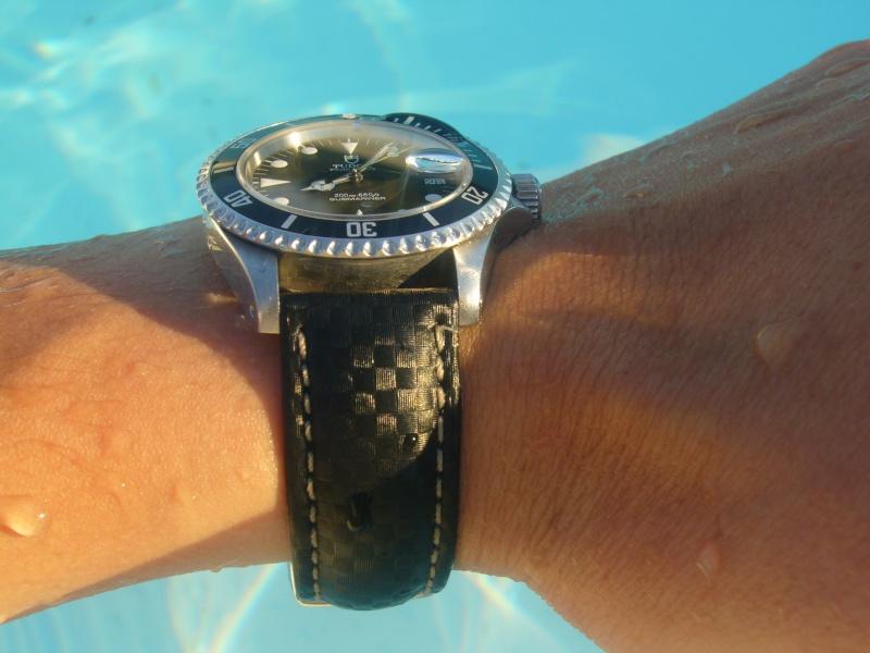 Feux de vos montres monté sur Carbon Hirsch Juille29