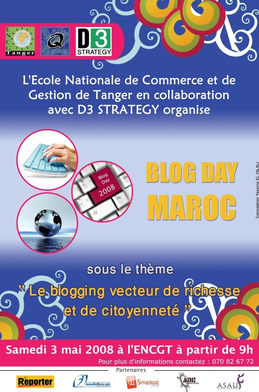 PROGRAMME OFFICIEL BLOG DAY MAROC - ENCGT Blog1010