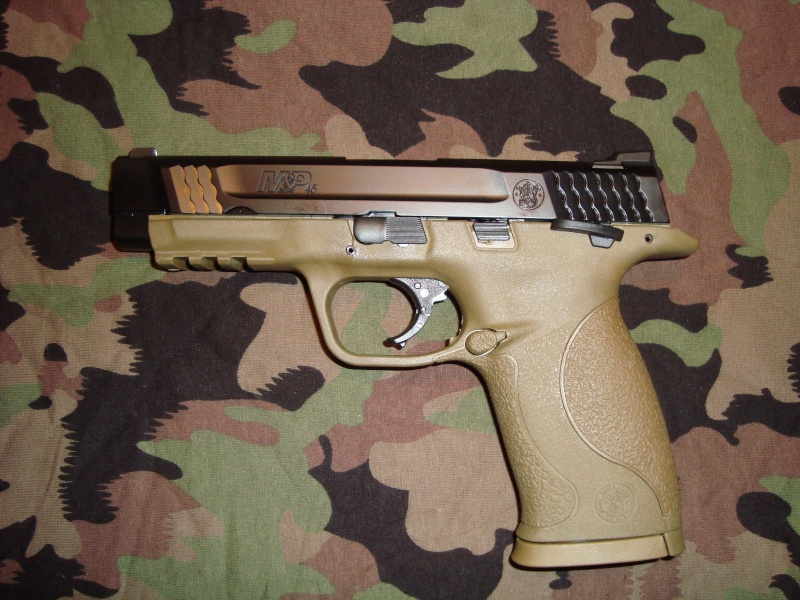 Smith& Wesson M&P 9 Flat dark Earth Carry and range Kit Mp4510
