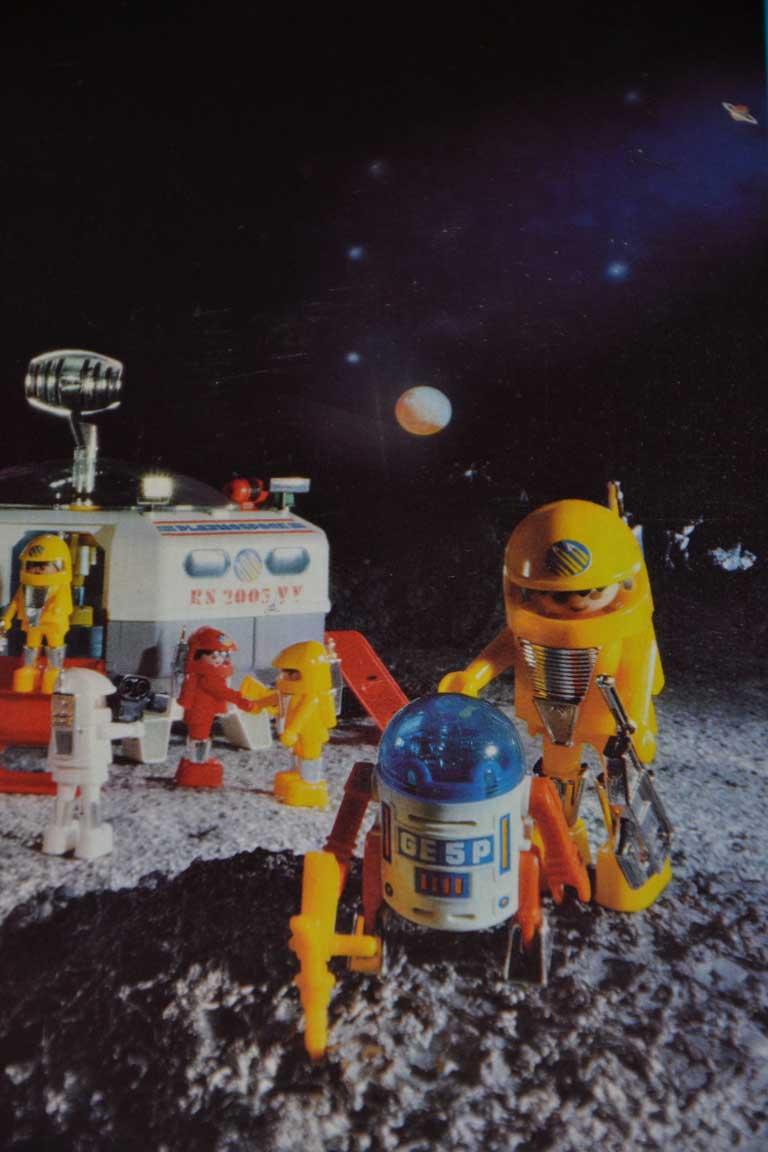 Playmobil thème Espace - Playmo Space - Playmospace Dsc_0611