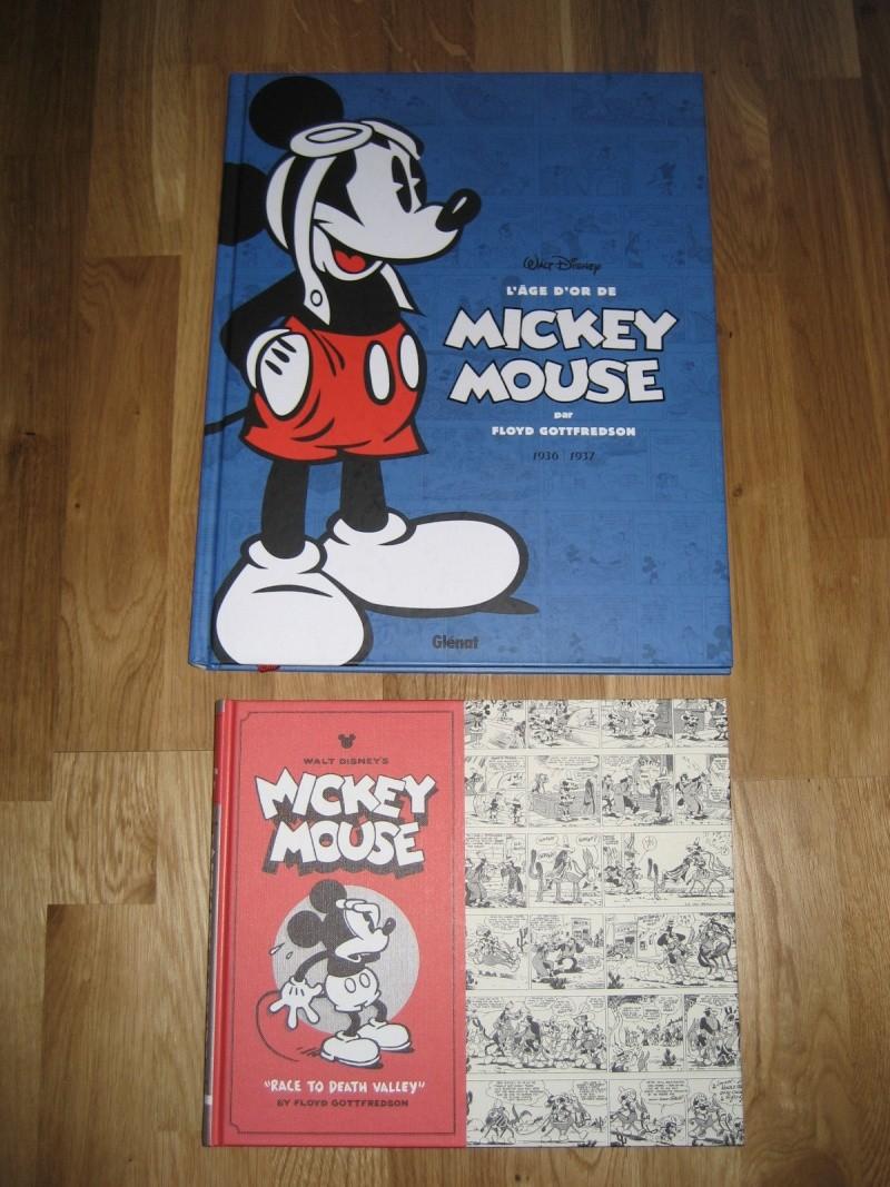 L'Âge d'Or de Mickey Mouse • Intégrale Floyd Gottfredson [Glénat - 2011] - Page 3 Img_4010