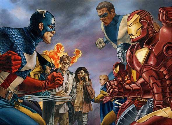 [Marvel] Civil War Civil-10