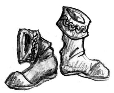 Mise aux enchères - Miteuses bottes de fuite du parfait trouillard Bottes10