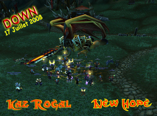 Forum : New Hope - Guilde Ally - Dalaran - Portail Hyjald10