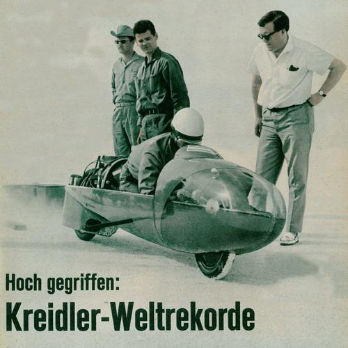 Hoch gegriffen: Kreidler-Weltrekorde Kreidl11