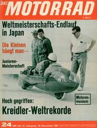 Hoch gegriffen: Kreidler-Weltrekorde Kreidl27