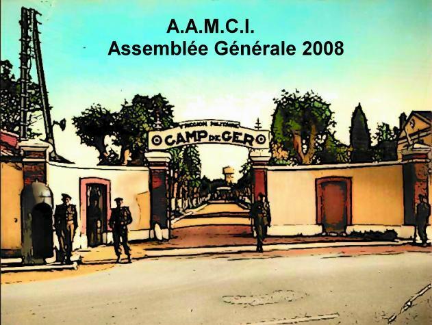 Assemblée MAI 2008 des Anciens du Camp d'Idron(et GER..) Campge10