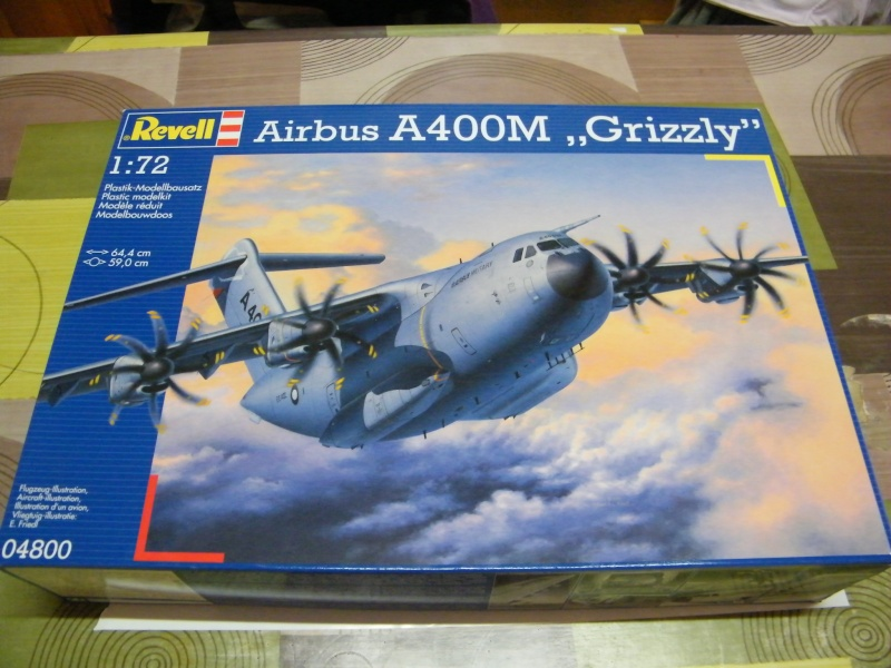 A400 M Grizzly  (revell)  ref: 04800 00115