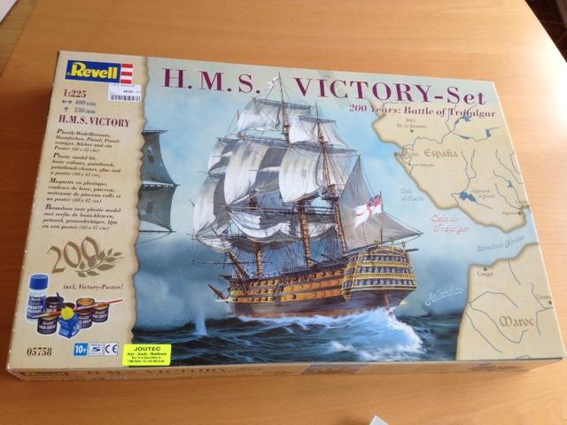 Le H.M.S Victory 1:225 kit plastic de Revell  Photo_32
