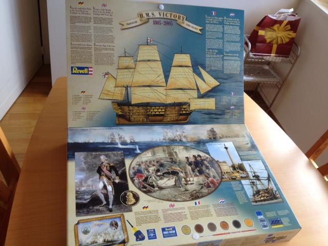 Le H.M.S Victory 1:225 kit plastic de Revell  Photo_33