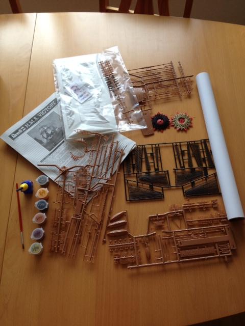 Le H.M.S Victory 1:225 kit plastic de Revell  Photo_34