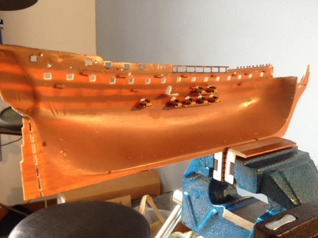 Le H.M.S Victory 1:225 kit plastic de Revell  Photo_36