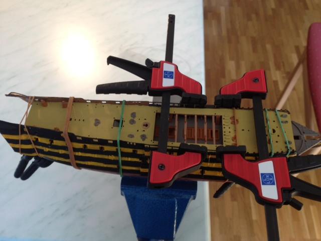 Le H.M.S Victory 1:225 kit plastic de Revell  Photo_39